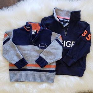 B2G1 Boy's 2T Navy Quarter Zip Pullovers